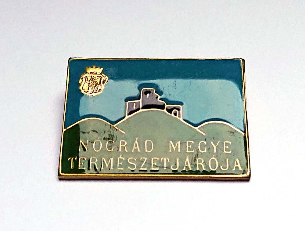 Nógrád megye természetjárója kitűző
