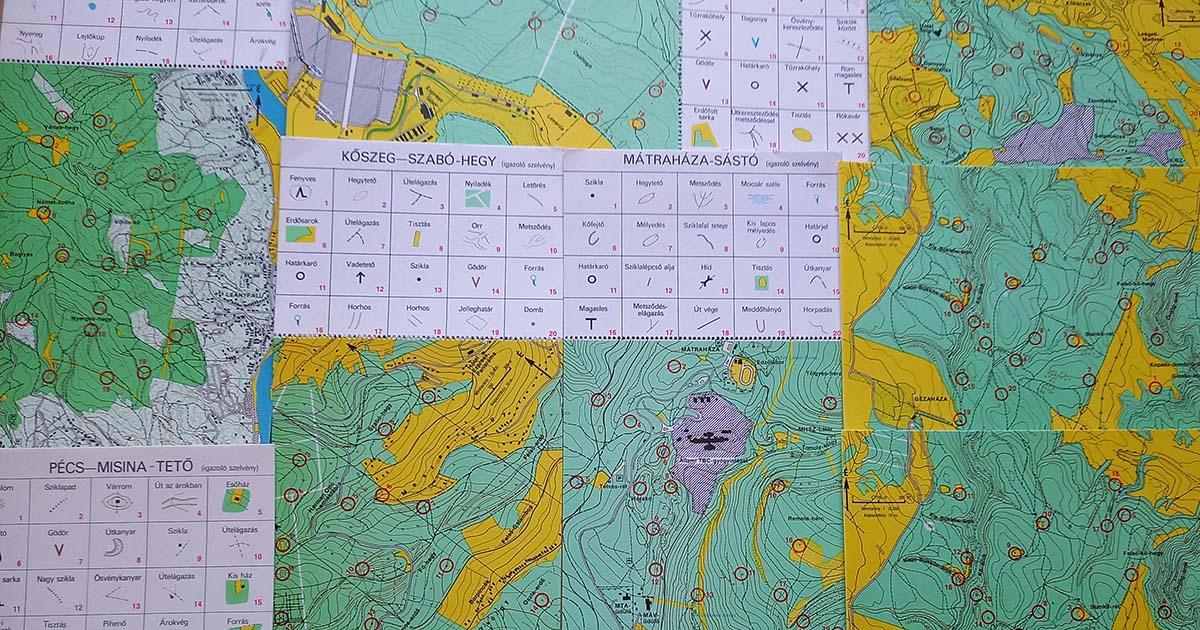 játsszunk tájékozódást térképes levelezőlapok